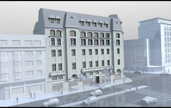 Global Vision completes next month the renovation of historical building near University Sq. in Bucharest