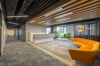 OLX Group Rented New Offices In America House Office Building In Bucharest