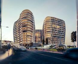 Metropolitan Crown Towers, a new mixed-use project with an office component , aiming to become a landmark in Bucharest