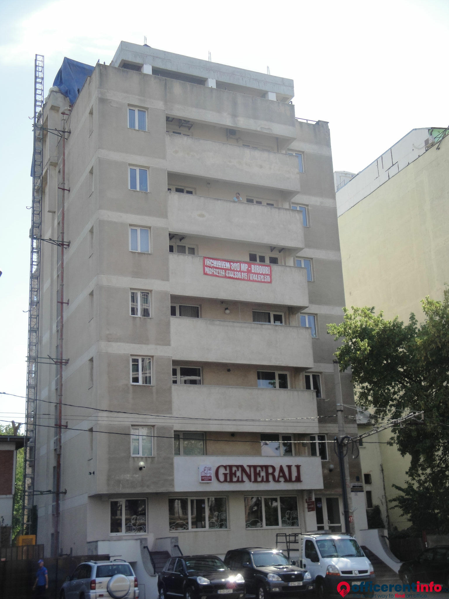 Office For Rent In Generali Calea Plevnei 53 10223 Bucharest