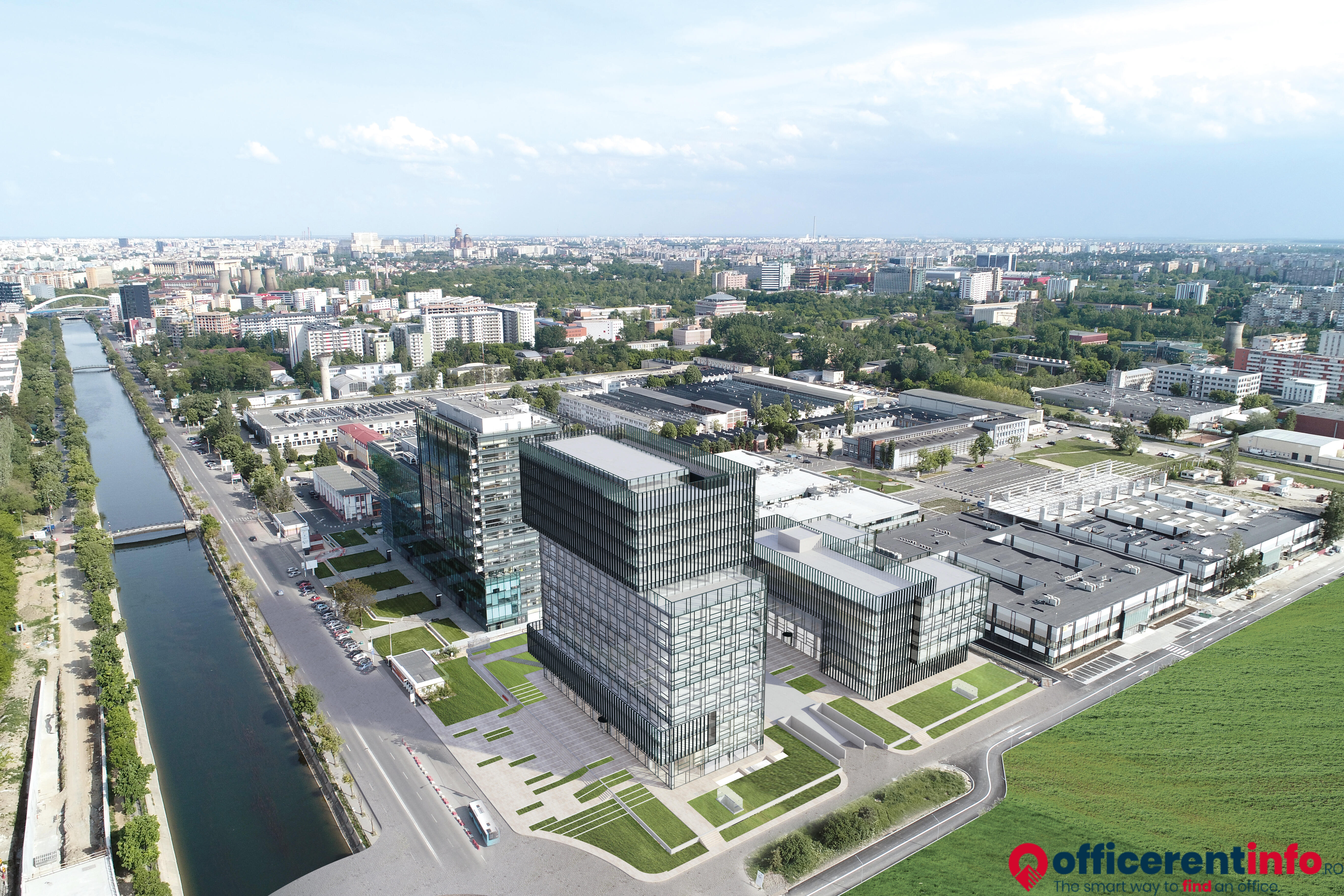 Office For Rent In Sema Parc 060044 Bucharest Splaiul